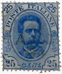 Timbre italien du 19e siècle