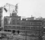 Construction du Palais du Travail  - Villeurbanne