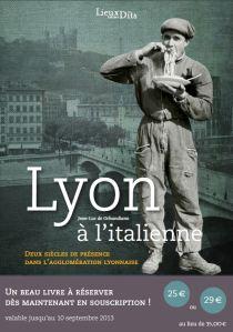 Lyon à l'italienne : deux siècles de présence dans l'agglomération lyonnaise - Jean-Luc de Ochandiano