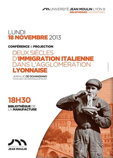 Deux siècles d'immigration italienne dans l'agglomération lyonnaise