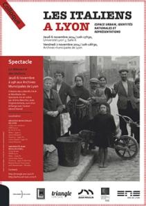 """Colloque """"Les Italiens à Lyon"""""""