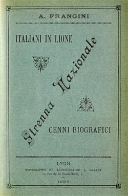 Italiani in Lione : strenna nazionale, cenni biografici