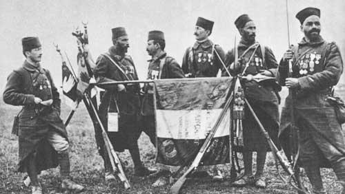 Tirailleurs algériens en 1917