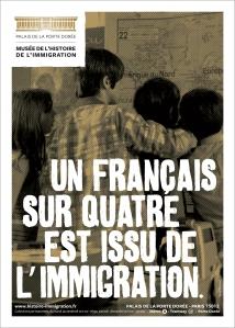 Musée de l'immigration - Un Français sur quatre est issu de l'immigration